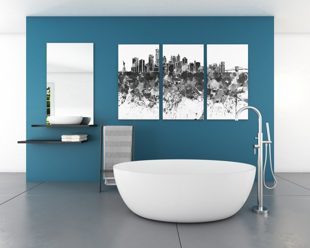 "59"" white gloss soaking tub by FutureClassics"