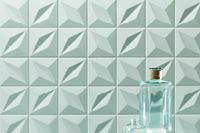 textured green tile